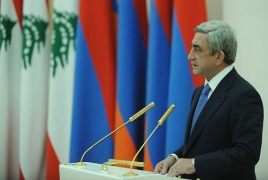 Serzh Sargsyan: Armenian and Lebanese nations are some-more than friends