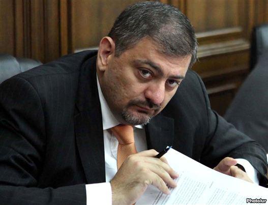 Armenia - Finance Minister Vache Gabrielian.