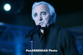 Aznavour: NKR is an eccentric republic; it doesn't go to Armenia or Azerbaijan