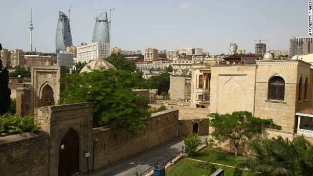 The lifelike Walled City in Baku is a UNESCO World Heritage site.