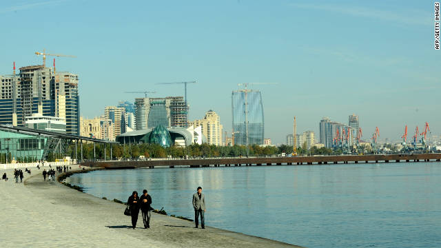 Baku's fast expanding skyline has turn a design of civic modernity in new years interjection to fast mercantile growth.