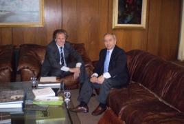 Armenian ambassador, Uruguayan FM plead Karabakh conflict