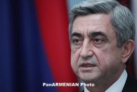 Serzh Sargsyan to revisit Italy, Vatican