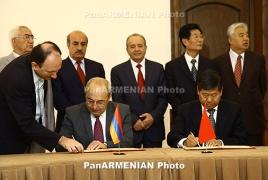 Armenian, Chinese open councils pointer team-work agreement