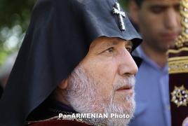 Karekin II, John Heffern plead Karabakh settlement