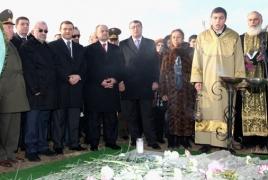 Seyran Ohanyan: Armenian army soldiers exercise Movses Gorgisyan's ideas