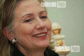 Hillary Clinton congratulates Armenia on 20th anniversary of independence