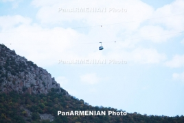 Wings of Tatev aerial tramway not to duty Aug. 30 – Sept. 15