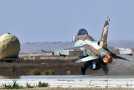 Israel hosted Greece's Hellenic Air Force for corner exercise