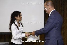 PanARMENIAN.Net awarded with Freedom of Information Center's Golden Key