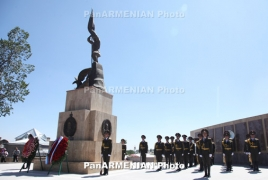 Book about Russian troops tomb in Gyumri to be released