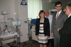 VivaCell-MTS provides Gyumri children's sanatorium with applicable equipments