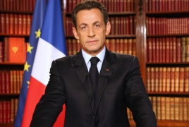 Sarkozy: France is during Armenia's side to assistance conflict external challenges