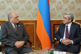 Armenian President signifies corner efforts in combating income laundering and financing of terrorism