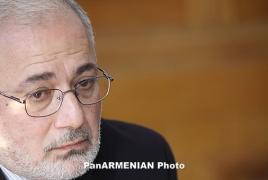 Vahan Hovhannisyan disfavors Armenia's flourishing poverty
