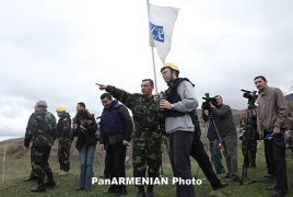 OSCE to reason unchanging monitoring during hit line Oct 4