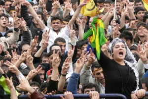 Kurds demonstrating1 mujgan arpat21 300x200 Gunaysu: Armenians and Kurds