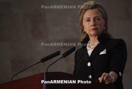 Hillary Clinton: Russia, China should explain their halt to Syrians