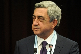 Renewed fight isn't resolution to Karabakh issue, Armenian President says
