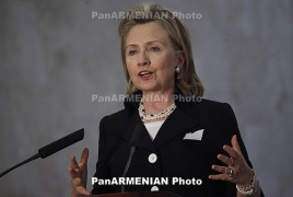 Clinton calls for assent in Karabakh