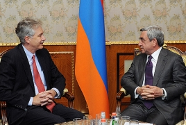 William Burns says ties with South Caucasus, Armenia of priority to U.S.