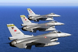 Turkey dispatches F-16 planes to expostulate divided Israeli aircrafts