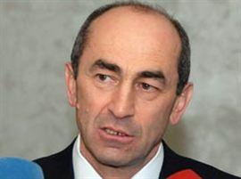Armenia -- former President Robert Kocharian, undated.