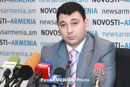 Eduard Sharmazanov inaugurated as clamp orator of parliament