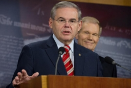 Menendez presses Heffern over Genocide issues