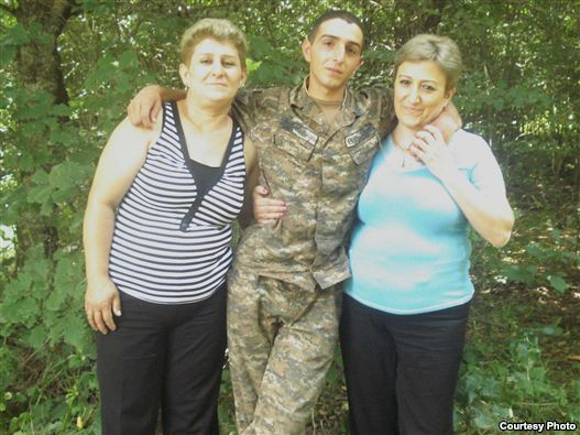 Armenia - Tigran Hambardzumian, a 19-year-old infantryman who was found passed nearby troops section on 29Jun2011.