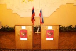 No violations during Russia State Duma check in Armenia