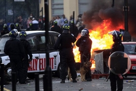 London riots: 26-year-old male passed of gunshot wounds