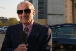 Charles Aznavour suggests replacing Genocide term?