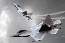 Russia demonstrates initial secrecy fighter